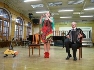 Виктор Маляров и Евгения Сергеева