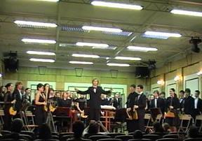 Русский народный оркестр колледжа МГИМ им. А. Г. Шникте